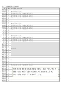 中2夏期日程表-1